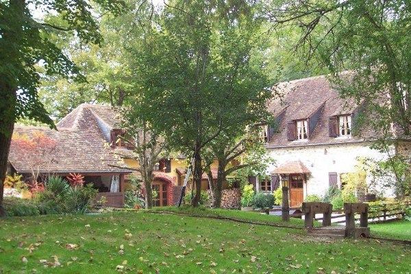 A picturesque 18c mill with guest cottage for sale for French country cottages for sale