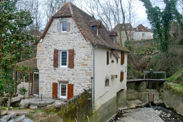 A Fully Restored Intriguing Water Mill