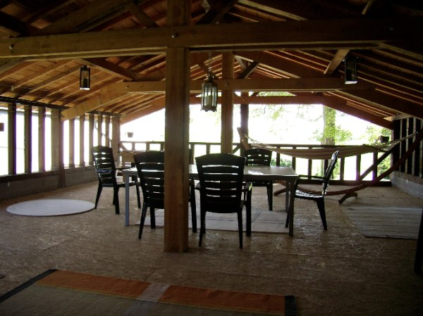 Barn : Covered Dining Area / Summer Entertaining
