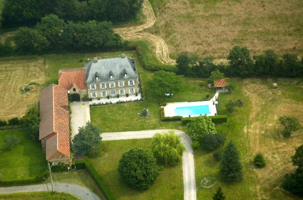 The Aerial View of the Estate