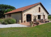 Beautifully Renovated Stone Farmhouse with Gite, Large Barn and 1ha of grounds