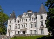 A 19C Chateau with Mountain Views and Large Outbuildings Ideal for Commercial Venture