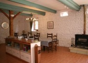 The CONVERTED BARN : Dining Room