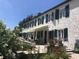 Immaculate 18C Maison de Maître with Pyrenean Views; Pool, Tennis Court & 8 HA