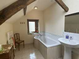 An Authentic 18C Stone Farm Ensemble, Beautifully Renovated, With Barns and Pool
