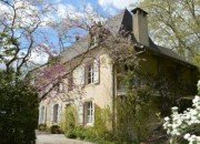 An Elegant Maison de Maitre and Independent Gite In Private Grounds with Mountain Views