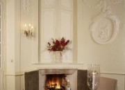 Fireplace in the Rotund Dining Hall