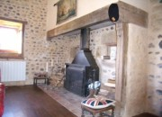 The Original Fireplace with Wood Burning Stove