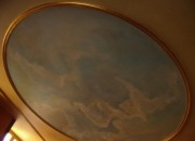 The Painted Ceiling in the Study