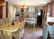GITE : Kitchen / Living Area