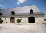 The Barn forming the Courtyard