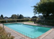 Swimming Pool with Pyrenees Backdrop