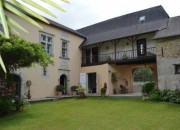 17C Maison de Maitre, set in an Attractive Courtyard with its Original Chai & Barns