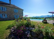 18C Former Bearnaise Farmhouse with Gite and Views to the Pyrenees