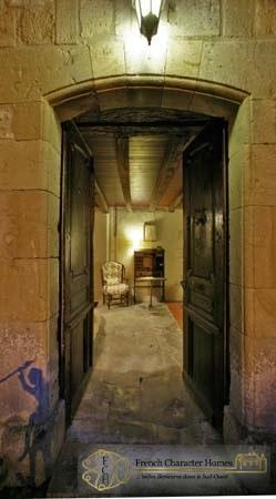 Le Vieux Prieuré : Entrance