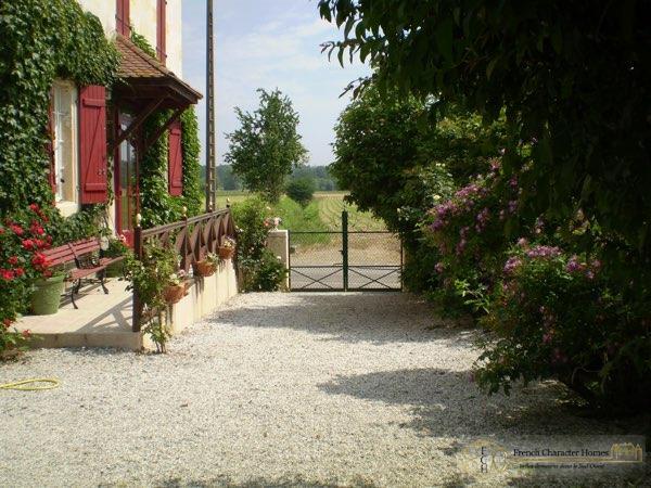 The Courtyard & Entrance Gates