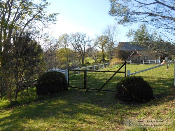 The Rear of the Barn & Arena