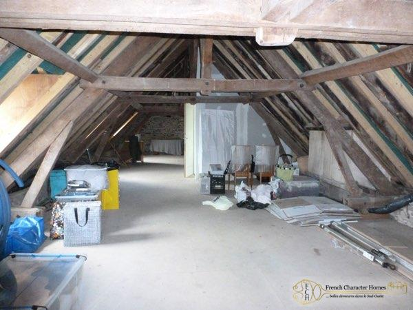 Attic Ready for Conversion