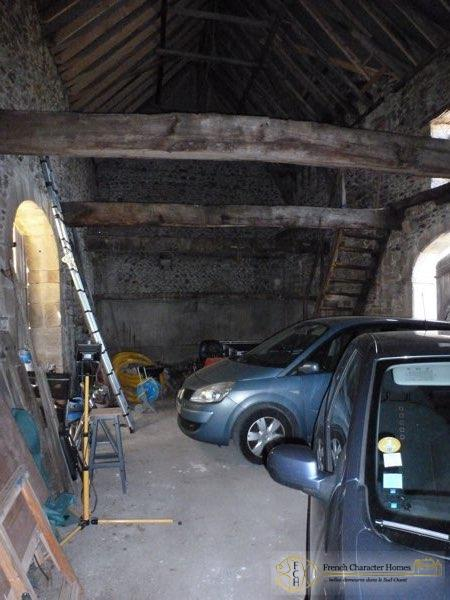 Inside the Attached Barn