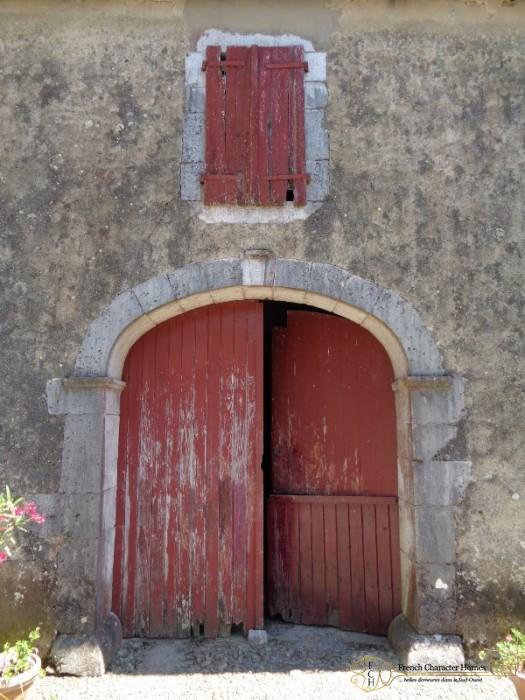 Side Entrance to the Barn