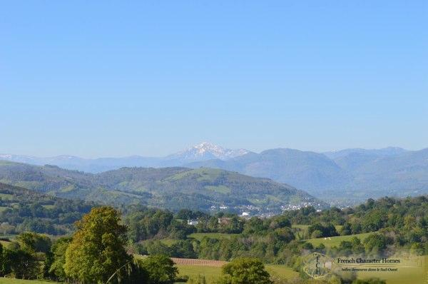 The View to the Pyrenees