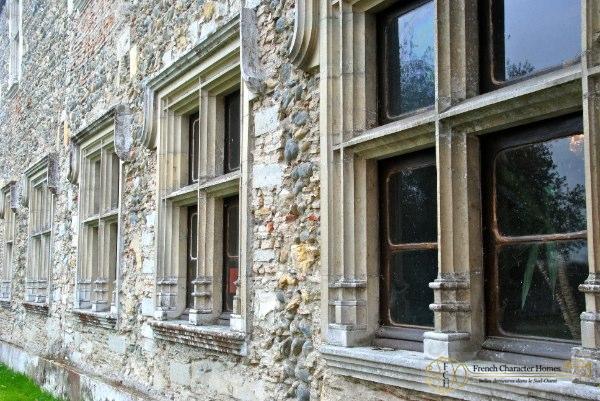 Stone Mullion Windows