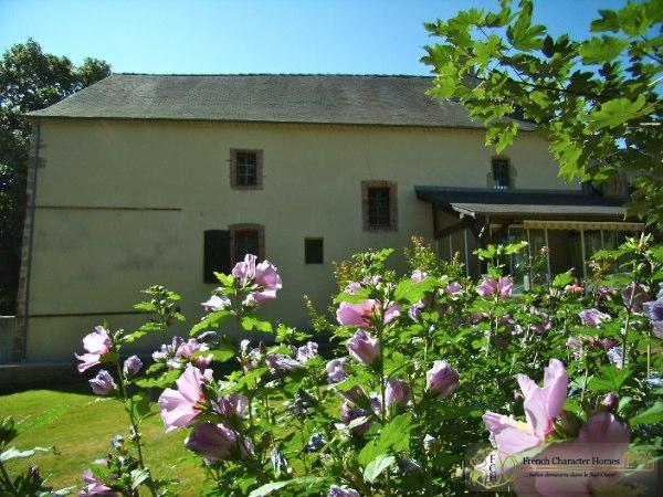 The Rear of the Farmhouse