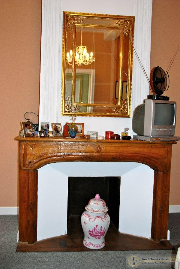 Fireplace to Bedroom 3