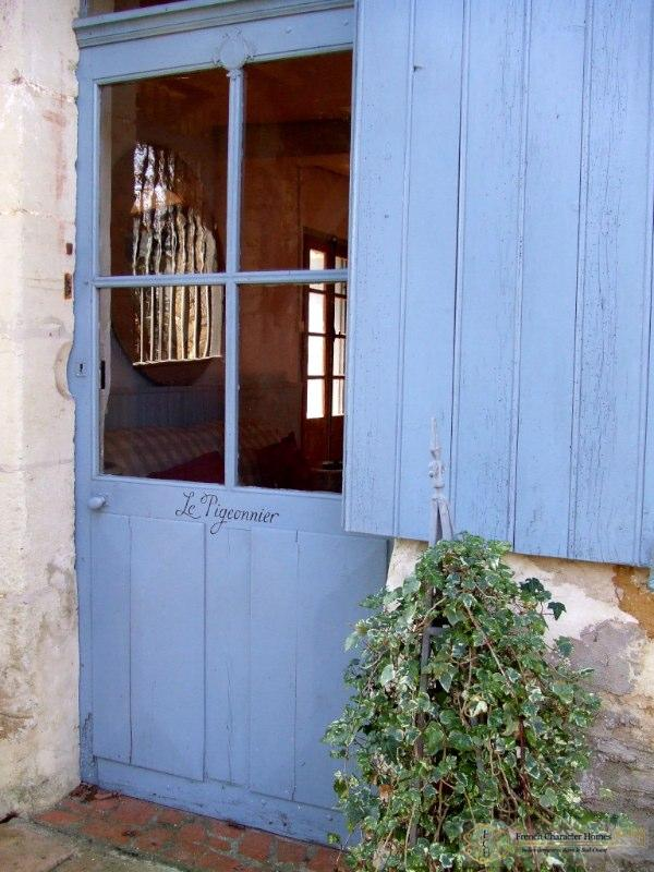 Entrance to the Guest Cottage