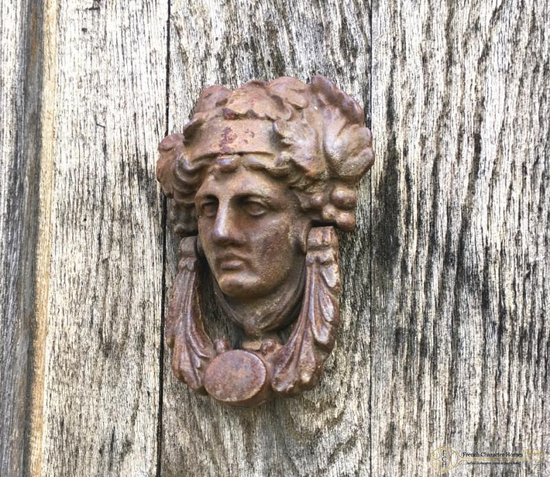 The Old Oak Door and Cast Iron Knocker