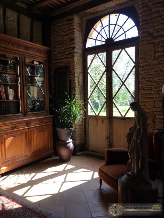 Dappled Sunlight through Doors
