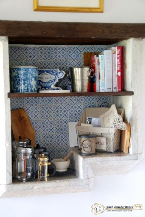 The Old Stone Evier in the Kitchen