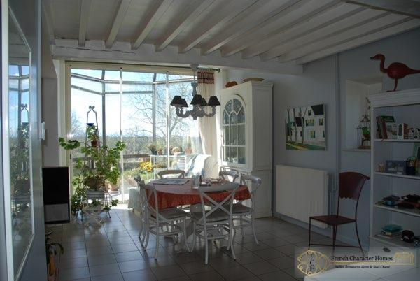 Dining Kitchen with Conservatory