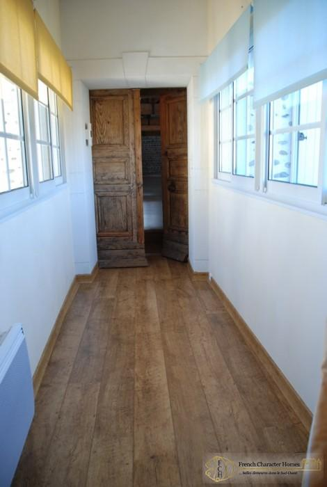Corridor to the Converted Barn