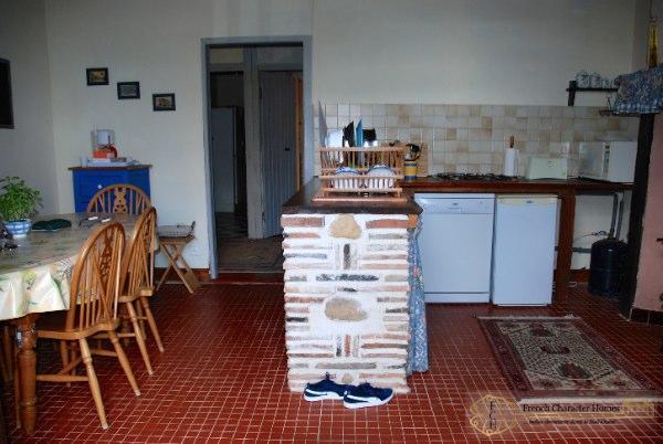 The Gîte : Dining Kitchen