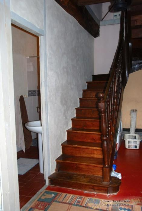 The Gîte : Staircase