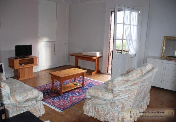 The Gîte : Bedroom 3 / Salon