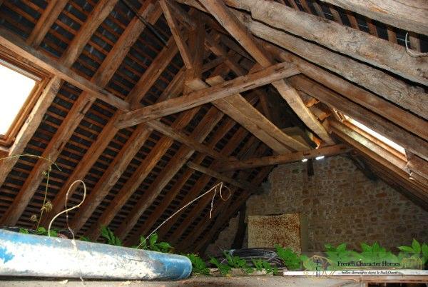 First Floor of Barn
