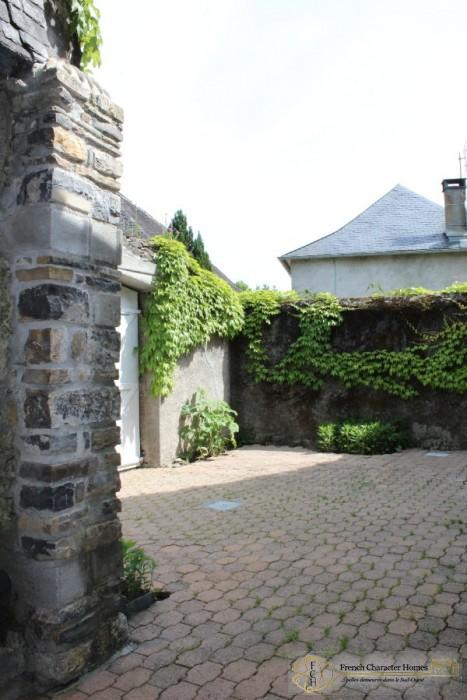 The Side Courtyard