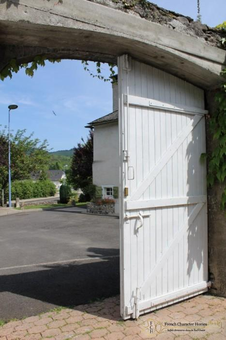 The Courtyard Entrance Gates