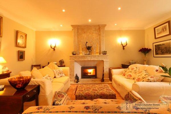 The Sitting Room Fireplace