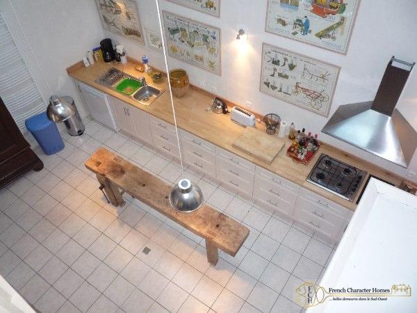 Mezzanine Over-Looking the Salon