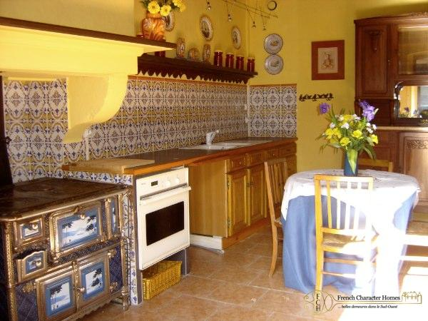 Gite 1 : Kitchen