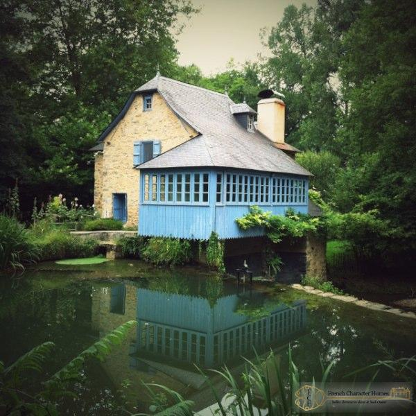 Charming Water Mill & Guest Cottage, Set In Idyllic