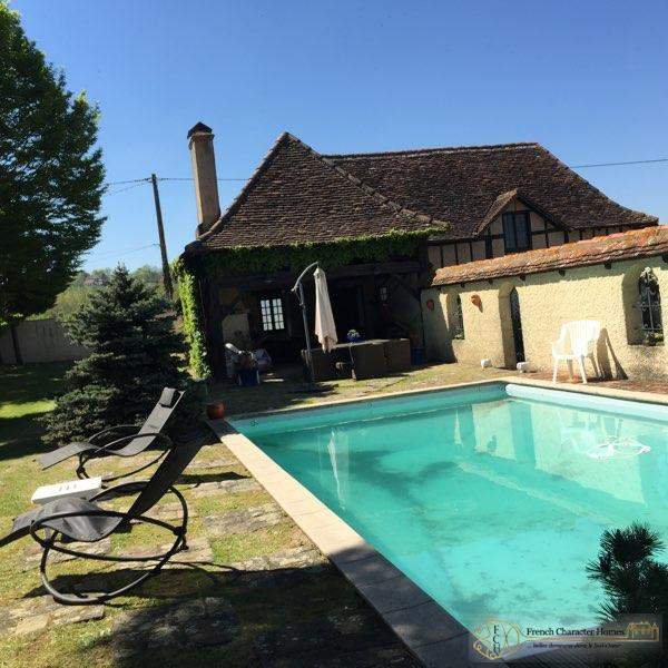 The Pool (Summer Kitchen behind)