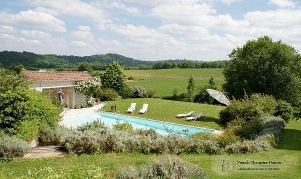 The Swimming Pool with Views to the Pyrenees