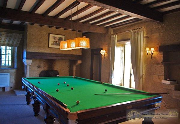 TOUR ST. MICHEL : Billiard